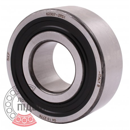 62307-2RS1 [SKF] Deep groove sealed ball bearing