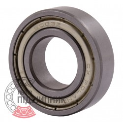 6003-ZZ [CX] Deep groove sealed ball bearing