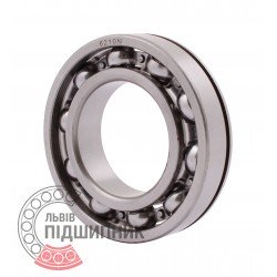 6210 N [CPR] Open ball bearing with snap ring groove on outer ring