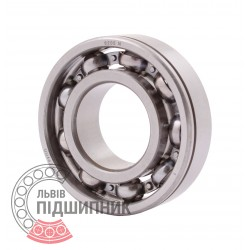 6205 N [CPR] Open ball bearing with snap ring groove on outer ring