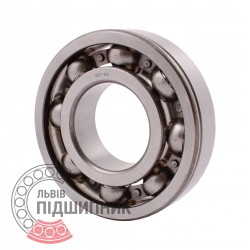 6311 N [CPR] Open ball bearing with snap ring groove on outer ring