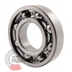 6318 [CT] Deep groove open ball bearing