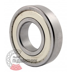 6318ZZ | 80318C17 [SPZ, Samara] Deep groove sealed ball bearing