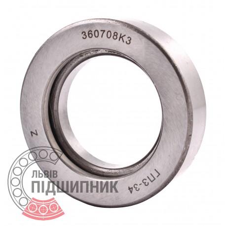 360708КС17 [ГПЗ] Пiдшипник кульковий - зчеплення ВАЗ 2101-2107, ВАЗ 2121 Нива