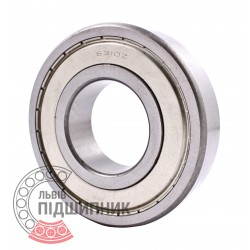 6310-Z [CPR] Deep groove ball bearing closure on one side