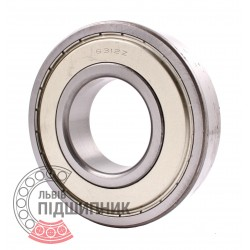 6312-Z [CPR] Deep groove ball bearing closure on one side