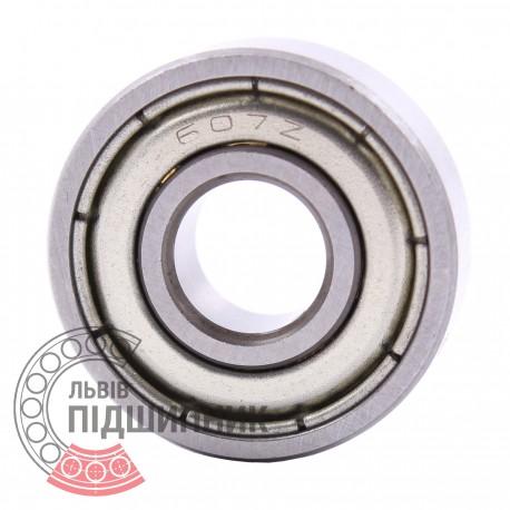 80017 | 607-2Z [CX] Мініатюрний закритий кульковий підшипник
