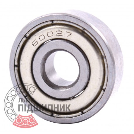 627 Z [GPZ] Miniature deep groove ball bearing