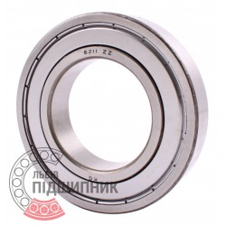 6211-2Z [CPR] Deep groove sealed ball bearing