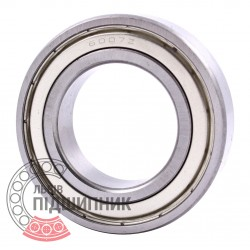6007-2Z [CPR] Deep groove sealed ball bearing