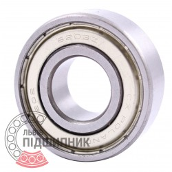 6203-2Z [CPR] Deep groove sealed ball bearing