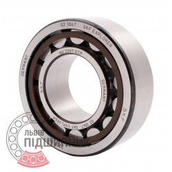 NU 2207 ECP [SKF] Cylindrical roller bearing