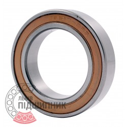 61907-2RS | 6907-2RS [Topran] Deep groove ball bearing. Thin section.