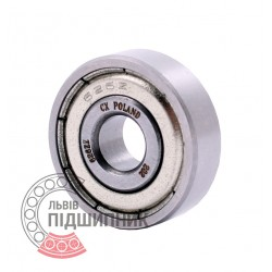 80026 | 626-2Z [CX] Мініатюрний закритий кульковий підшипник