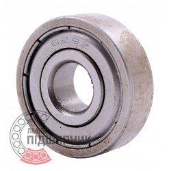 80029 | 629-2Z [DPI] Мініатюрний закритий кульковий підшипник