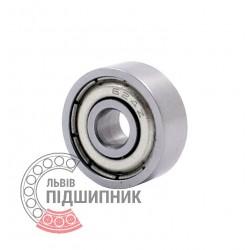 80024   624-ZZ [CPR] Мініатюрний закритий кульковий підшипник