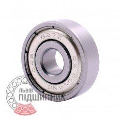 627-2Z [CX] Miniature deep groove ball bearing