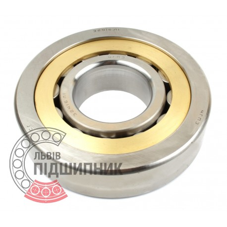 32416 Л1   NU416M [SPZ, Samara] Cylindrical roller bearing