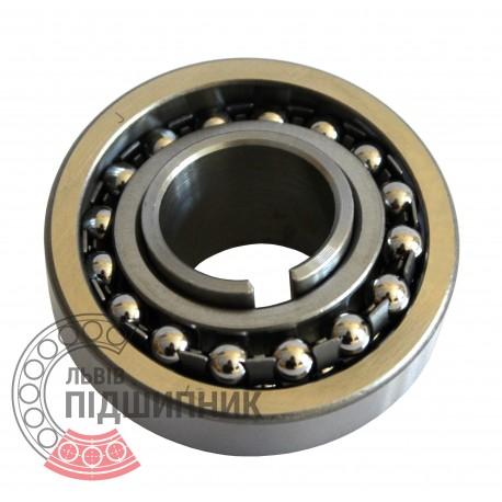 Пiдшипник кульковий дворядний сферичний 11204 (1205K+H205)
