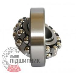 Пiдшипник кульковий дворядний сферичний 11309 (1310K+H310) [ХарП]