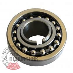 Пiдшипник кульковий дворядний сферичний 11205 (1206K+H206)