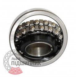 Пiдшипник кульковий дворядний сферичний 11208 (1209K+H209)