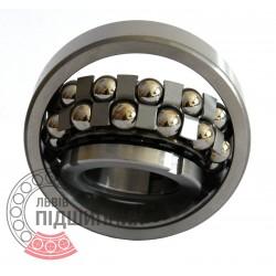 Пiдшипник кульковий дворядний сферичний 11312 (1313K+H313)