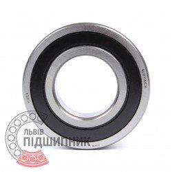Deep groove ball bearing 6209 2RSR [Kinex ZKL]