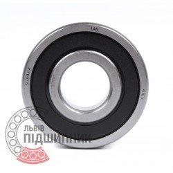 Deep groove ball bearing 6300 2RSR [Kinex ZKL]