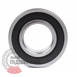 Deep groove ball bearing 62303 2RS [DPI]