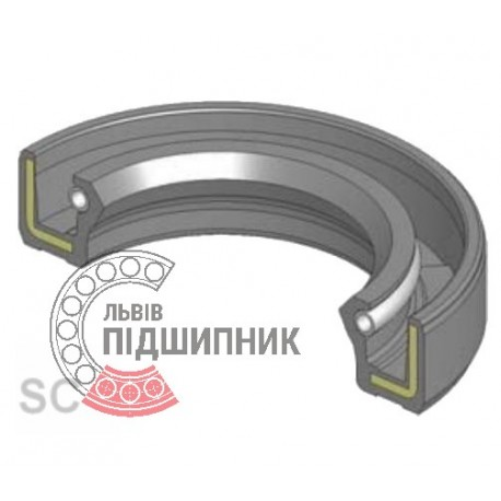 Oil seal 1,2-40x62x10