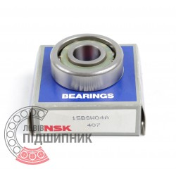 Angular contact ball bearing 15BSW04A [NSK]