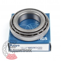 Tapered roller bearing 18590/18520 [Koyo]