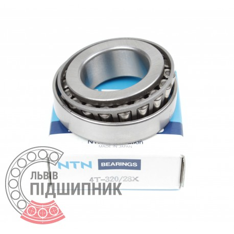 Tapered roller bearing 320/28JR [NTN]