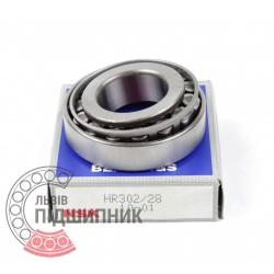 Tapered roller bearing 302/28 [NSK]