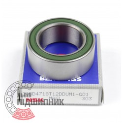 Пiдшипник кульковий радіально-упорний 30BD4718T12DUM1 [NSK]