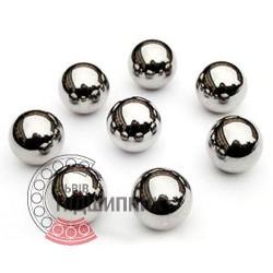 Кулька, діаметр - 17,463 мм