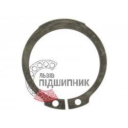 Наружное cтопорное кольцо на вал 125 мм