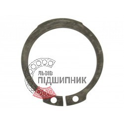 Outer snap ring 125 mm