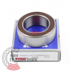 Angular contact ball bearing 35BD219T12DDUCG33 [NSK]