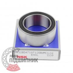 Angular contact ball bearing 32BD4718T12DDUKCG26 [NSK]