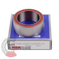 Пiдшипник кульковий радіально-упорний 35BD4820T1XDDU [NSK]