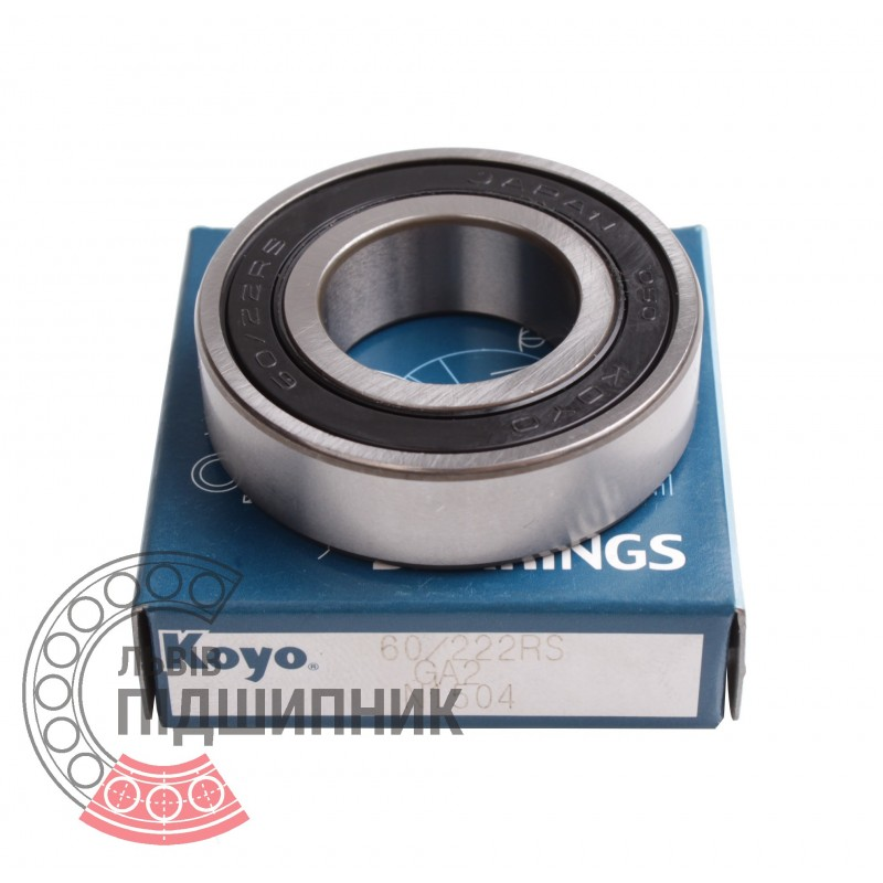 6022 6022-2RS SEALED ROLLER BEARING 22x44x12