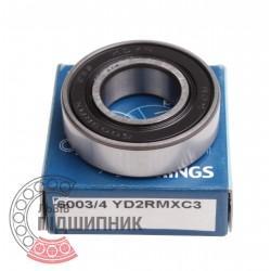 Пiдшипник кульковий 6003/4 2RS YD2RMXC3