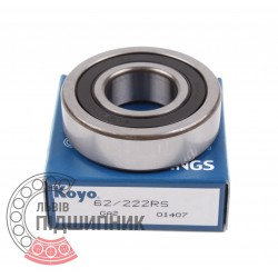 Deep groove ball bearing 62/22 2RS [Koyo]