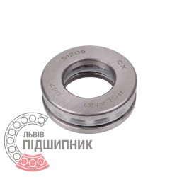 Thrust ball bearing 51205 [CX]