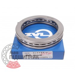 Thrust ball bearing 51116 [Kinex ZKL]