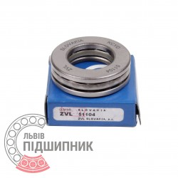 Thrust ball bearing 51104 [Kinex ZKL]