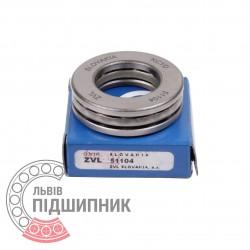 Пiдшипник кульковий упорний 8104 (51104) [Kinex ZKL]