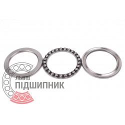 Thrust ball bearing 51111 [GPZ-4]
